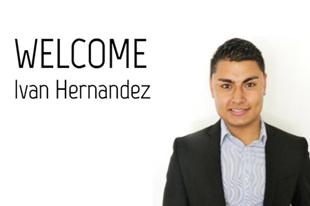Meet Ivan Hernandez, our new Administrative Assistant